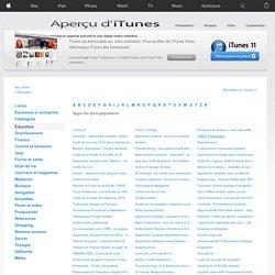 Enseignement - App Store à télécharger sur iTunes