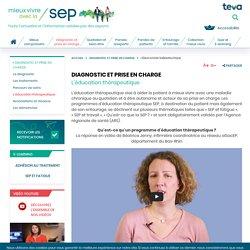 L'éducation thérapeutique dans la SEP qu'est ce que c'est ?