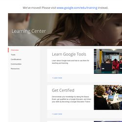Google Apps Education Training Center