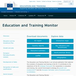 Education and Training Monitor