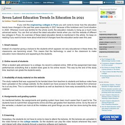 Seven Latest Education Trends In Education In 202