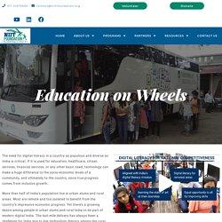 Education On Wheels - NIIT Foundation