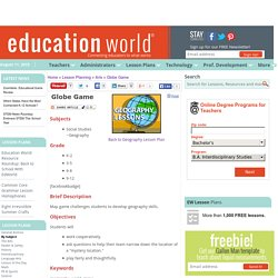 Globe Game LP-Education World