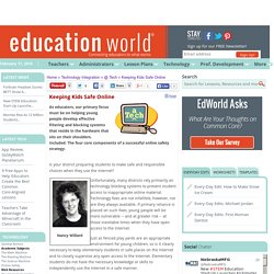 Education World: Keeping Kids Safe Online