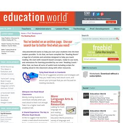 Education World: The Reading Room