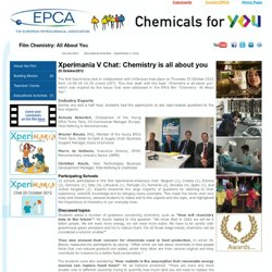 Chemistry: All About You - Educational Activities - Xperimania V: Chat