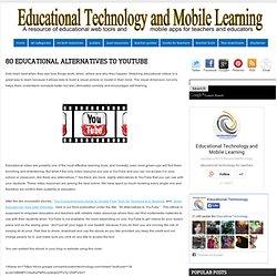 80 Educational Alternatives to YouTube
