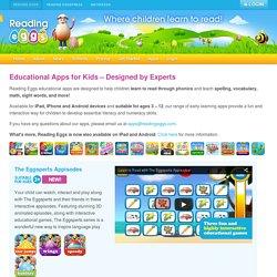 Educational Apps for Kids – Reading Eggs