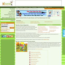 Educational Children's Healthy Food Games- Free Flash Computer Games for Kids, Teaching Children Healthy Eating, USDA Food Pyramid