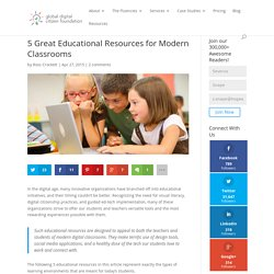 5 Great Educational Resources for Modern Classrooms