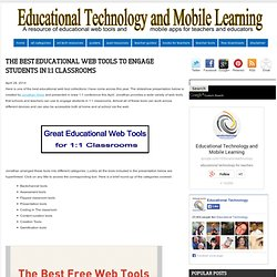 The Best Educational Web Tools to Engage Students in 1:1 Classrooms