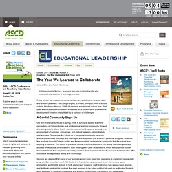 Coaching: The New Leadership Skill:The Year We Learned to Collaborate