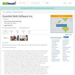 Essential Skills Software Inc - Best Reading Programs for Elementary Schools