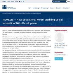 New Educational Model Enabling Social Innovation Skills Development – Institut für Lern-Innovation