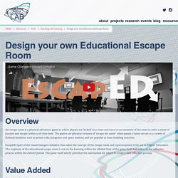 Design your own Educational Escape Room