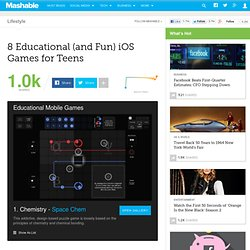8 Educational (and Fun) iOS Games for Teens