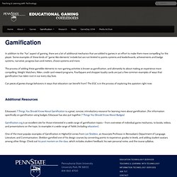 Educational Gaming Commons