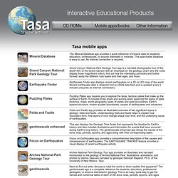 Educational mobile apps for Geology and the Earth Sciences - Tasa Graphic Arts, Inc.