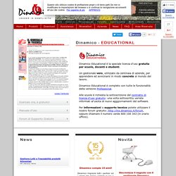 : : Dinamico Educational : : software gestionale gratis per le scuole