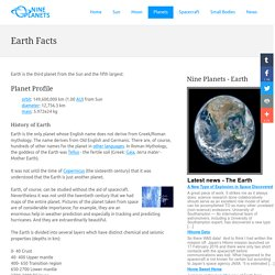 Earth l Earth facts, pictures and information.