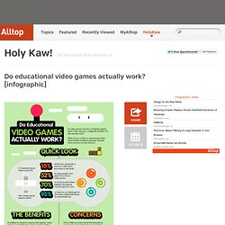 Do educational video games actually work? [infographic