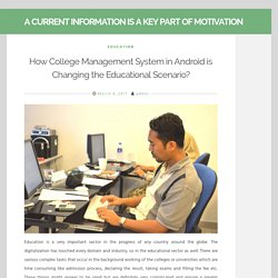 Student attendance College management Software Android