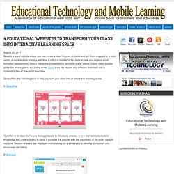 4 Educational Websites to Transform Your Class into Interactive Learning Space