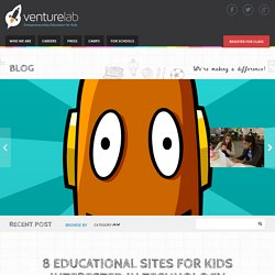 8 Educational Sites for Kids Interested in Technology