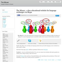 The Mixxer | Language Exchange for Everyone