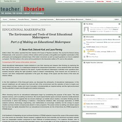 EDUCATIONAL MAKERSPACES
