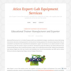 Communication Lab Trainer Equipment
