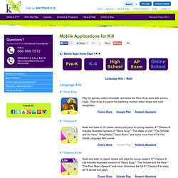 Educational Mobile Apps for K-8