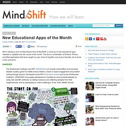 New Educational Apps of the Month