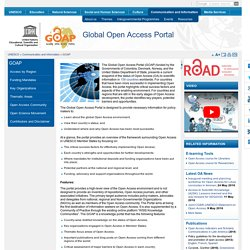 Global Open Access Portal