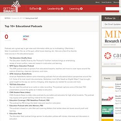 Top 10+ Educational Podcasts
