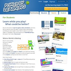 Play Educational Games & Activities for Students