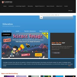 High Quality Educational Products & Resources