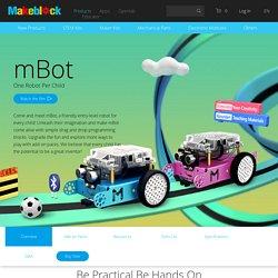 mBot robot kit - educational programmable robot