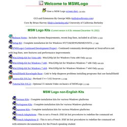 MSWLogo, An Educational programming language