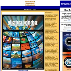 Educational Technology Publications