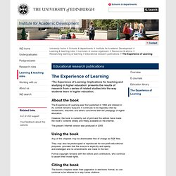 Educational research publications