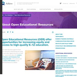 OER Rubrics and Evaluation Tool