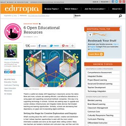 6 Open Educational Resources