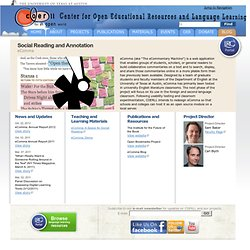 Center for Open Educational Resources and Language Learning