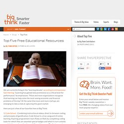 Top Five Free Educational Resources | Top Five
