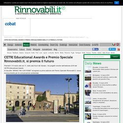 CETRI Educational Awards e Premio Speciale Rinnovabili.it