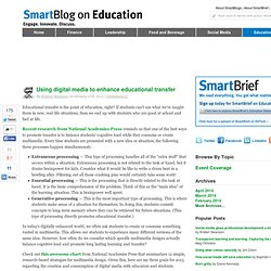 Using digital media to enhance educational transfer SmartBlogs