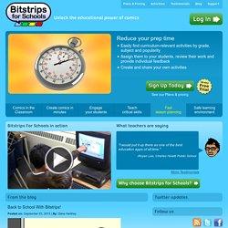 Bitstrips pour écoles