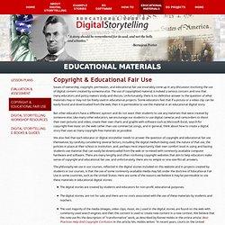 Interpreting Copyright Law (for Digital Storytelling)