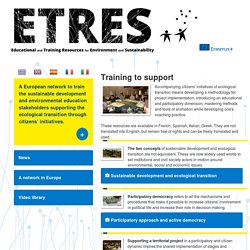 ETRES : European Educational & Training Resources for Environment & Sustainability : SeFormer